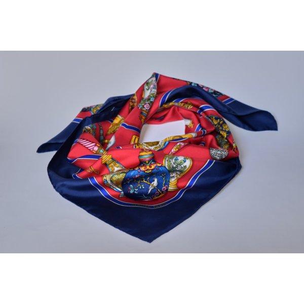 Hermès Silk Cloth red silk