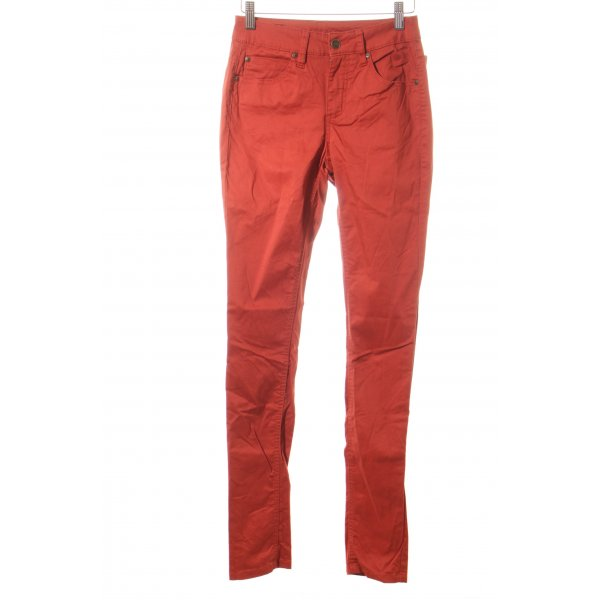 Selected Femme Slim Jeans rostrot Casual-Look