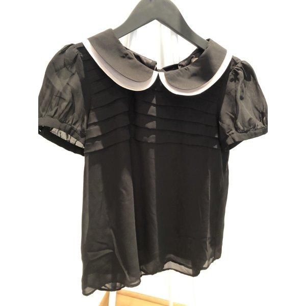 Fever london Blusa de manga corta negro