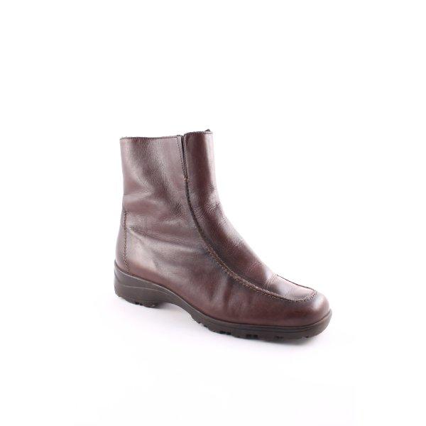 Semler Boots dunkelbraun schlichter Stil