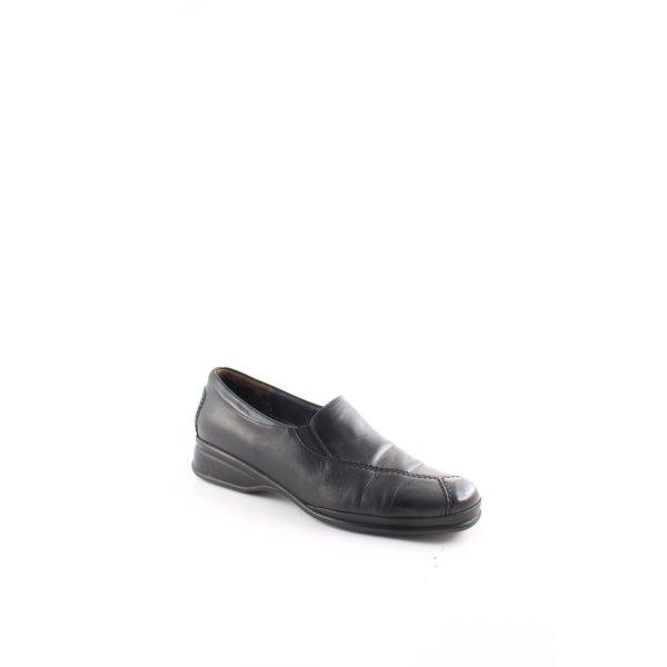 Semler Schlüpfschuhe schwarz minimalistischer Stil