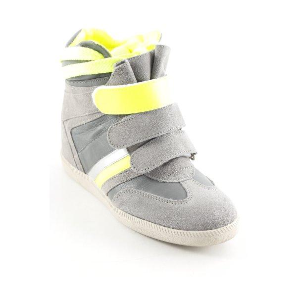 Serafini High Top Sneaker Streifenmuster Skater-Look