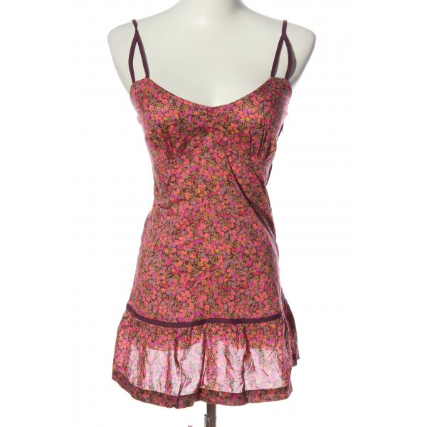 Sessun Minikleid rot-pink Allover-Druck Casual-Look