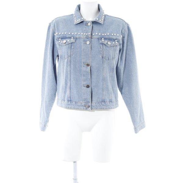 Set Jeansjacke blau Casual-Look