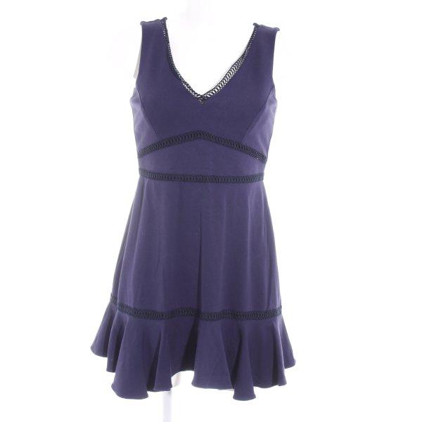 Set Stretchkleid dunkelblau Casual-Look
