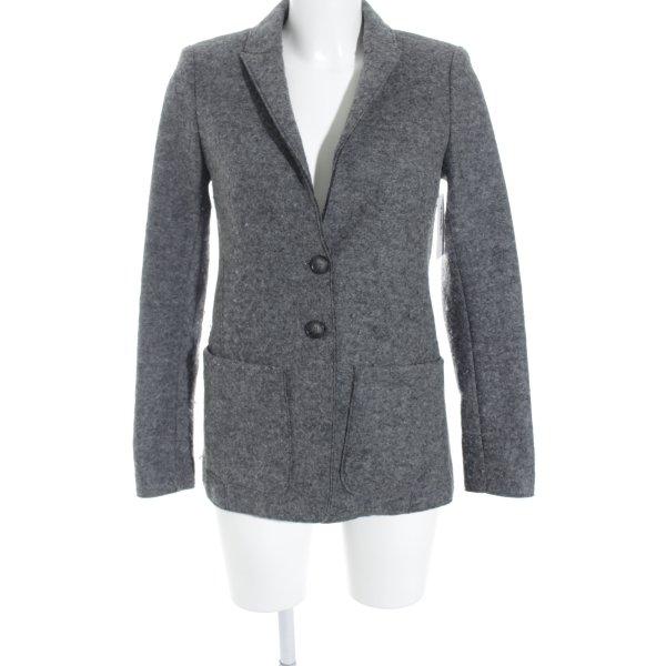 Set Woll-Blazer grau Business-Look