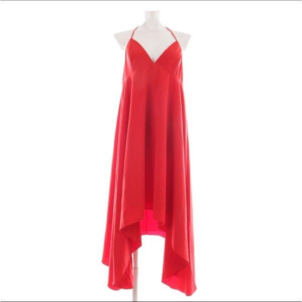 sexy Kleid in Ferrari rot # der Hingucker # D 40/42 - NEU