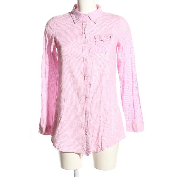 Sfera Langarmhemd pink Allover-Druck Casual-Look