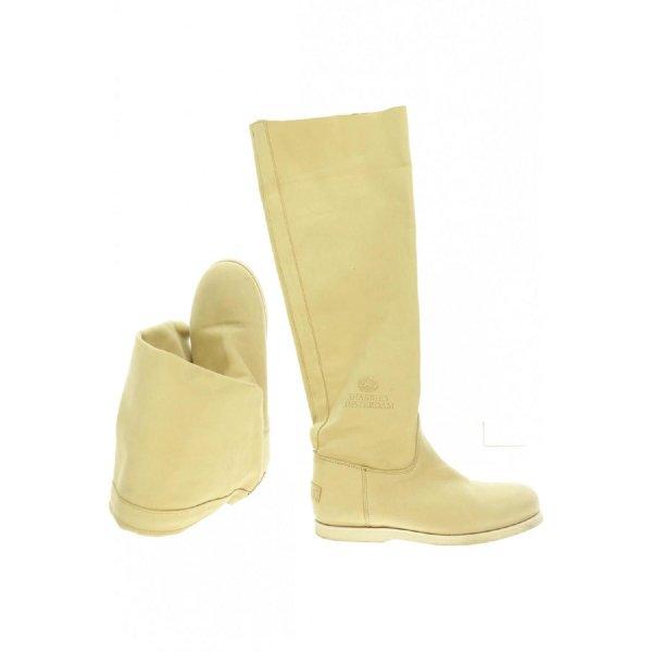 Shabbies Amsterdam Leder Stiefel Damen Gr. US 7 (DE 37.5)
