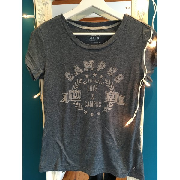Campus T-Shirt slate-gray