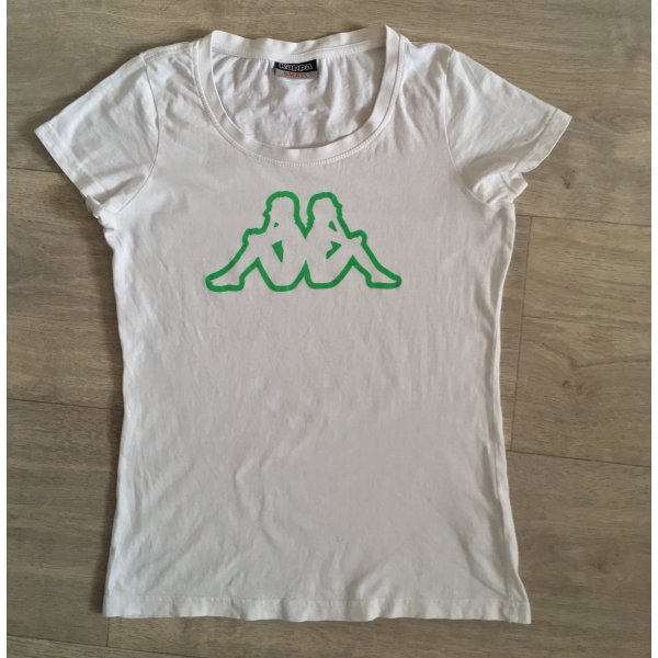 Shirt Kappa S weiß/grün