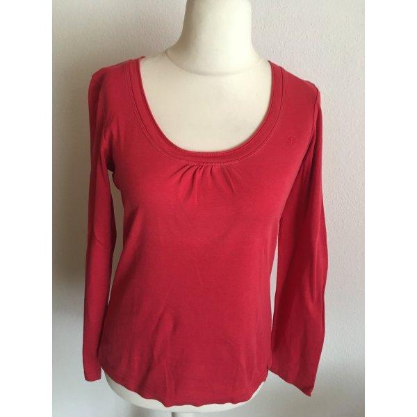 Shirt Langarmshirt Longsleeve Basic rot Gr. L