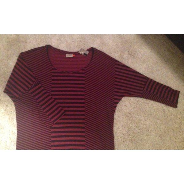 Shirt mit mittellangen Ärmeln und Streifen