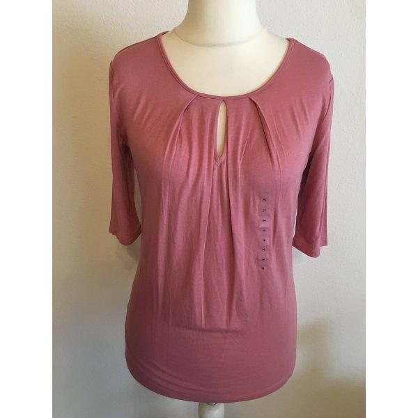 Shirt Oberteil rosa 3/4 Ärmel Gr. S NEU mit Etikett