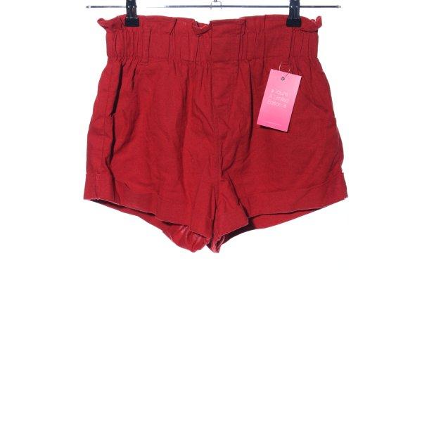 Showpo Shorts rot Casual-Look