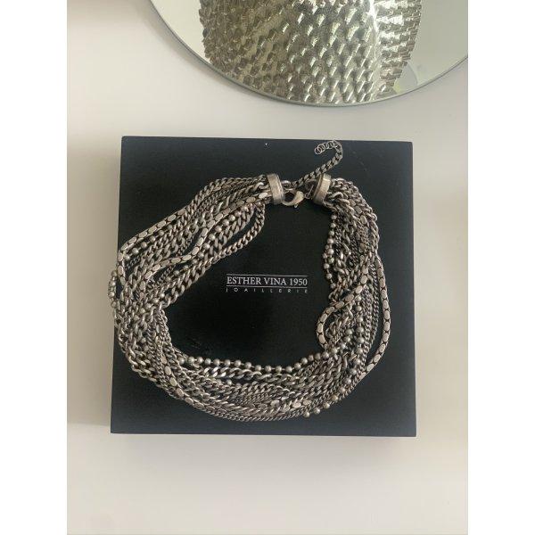Silber Halskette Esther Vina