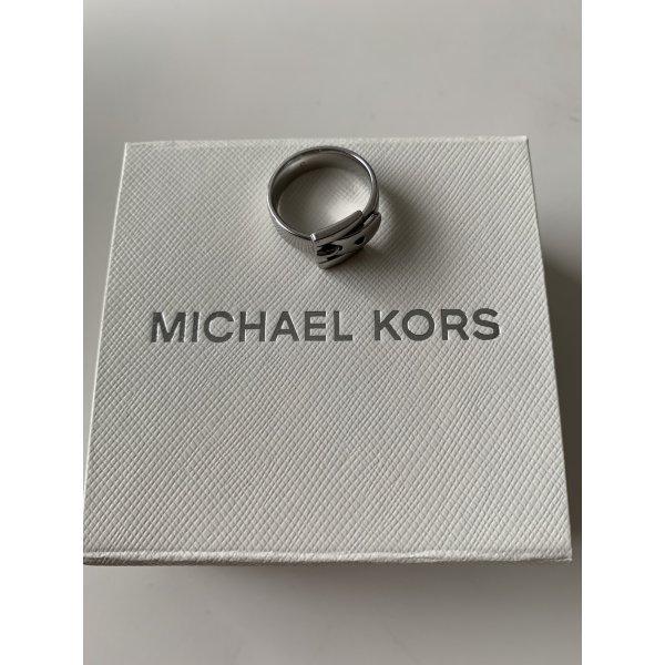 Silberner Ring mit Gürtelschnalle von Michael Kors, Gr. 6
