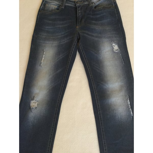 SISLEY - Destroyed Jeans