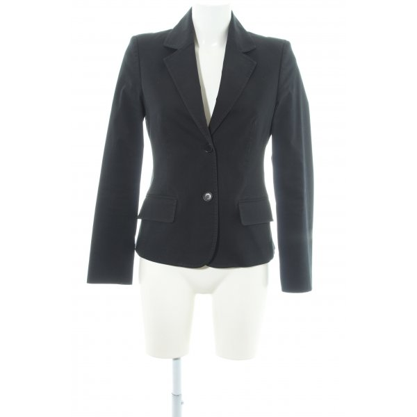 Sisley Kurz-Blazer schwarz Elegant