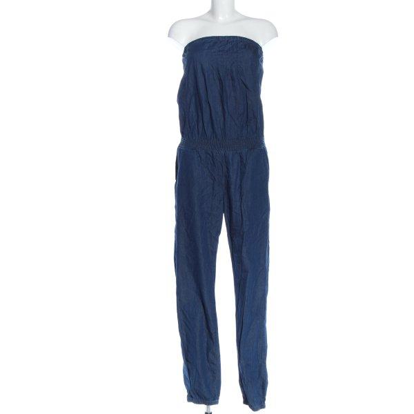 Sisley Langer Jumpsuit blau Casual-Look