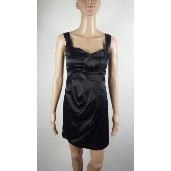 Sisters Point Damen Kleid Cocktailkleid Partykleid Kleines Schwarzes Größe S