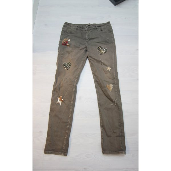 Trousers multicolored