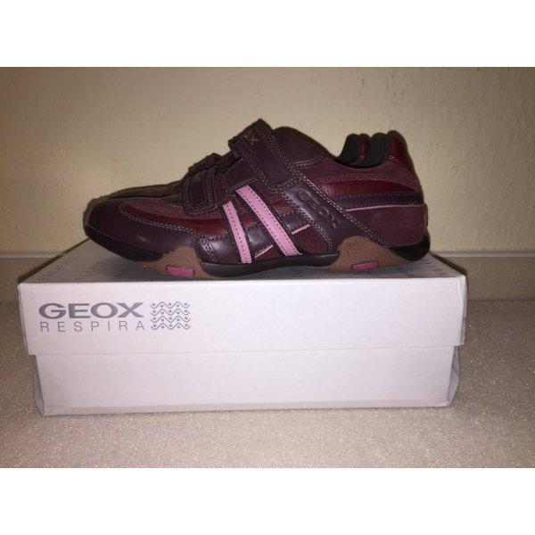 Sneaker Geox Leder mit Klettverschluss