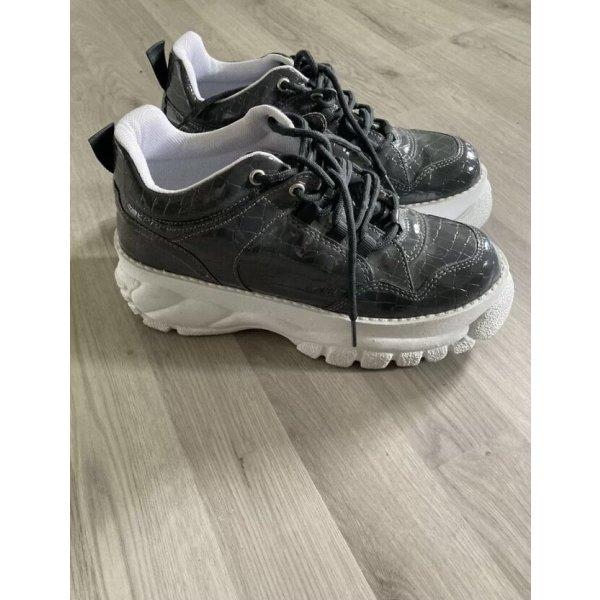 Sneakers Topshop Grau Lack