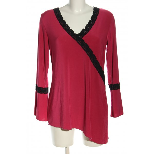 So bin ich Shirttunika pink-schwarz Casual-Look