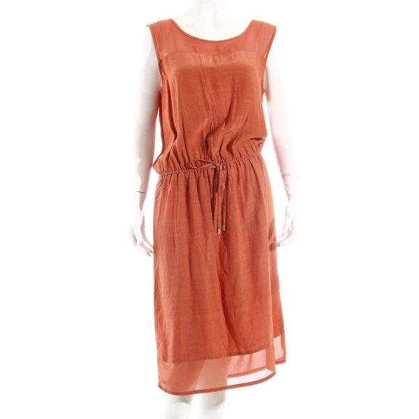 Soaked in luxury Kleid rostrot Casual-Look