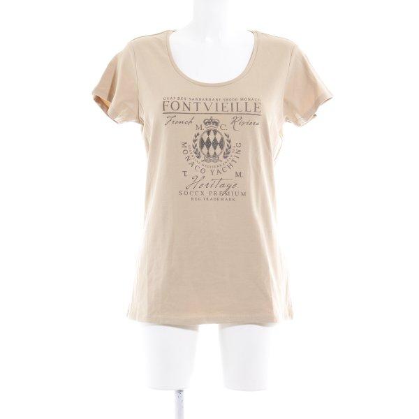 Soccx T-shirt sabbia Stampa a tema stile casual