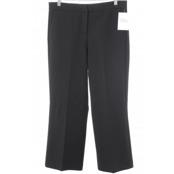 someday Bundfaltenhose schwarz Casual-Look