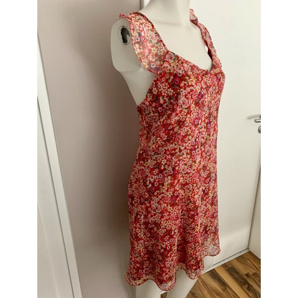 Sommerkleid Blümchenmuster Zara