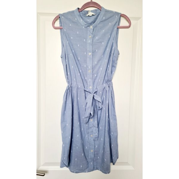 Sommerkleid kleid jeanskleid hemdkleid