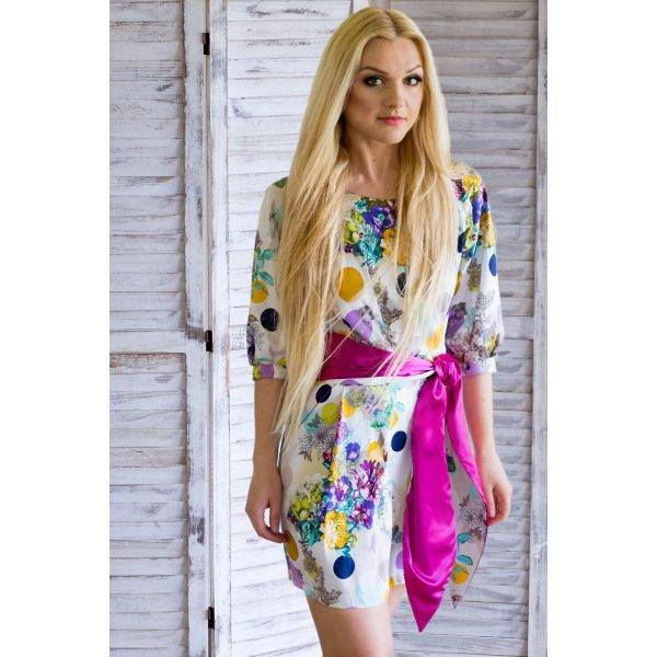 Sommerkleid / Midikleid/ Strandkleid / kurzes Kleid/ Blumenkleid/ buntes Kleid