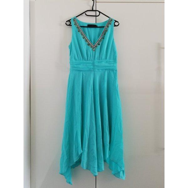 b.p.c. Bonprix Collection Midi Dress black-turquoise