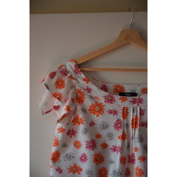 sommerliche Bluse mit Blumenmotiv - Versus