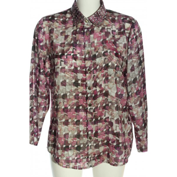 Sommermann Hemd-Bluse Mustermix Casual-Look