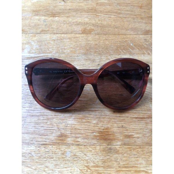 Valentino Oval Sunglasses multicolored