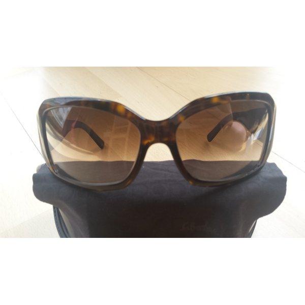 Sonnenbrille von Ferragamo mit Swarovski-Kristallen, NEU