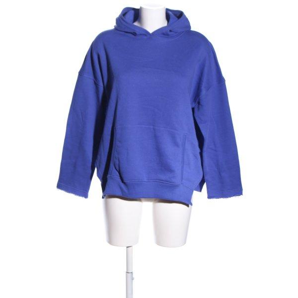 SoSUE Kapuzenpullover blau Casual-Look
