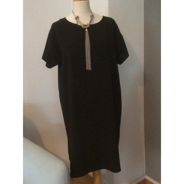 Soyaconcept schwarzes Kleid Größe L