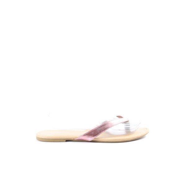 spicy Zehen-Sandaletten pink Casual-Look