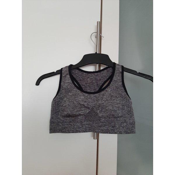 active Bra black-dark grey