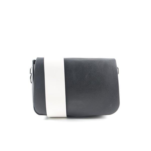 Sportmax Umhängetasche schwarz-weiß Elegant