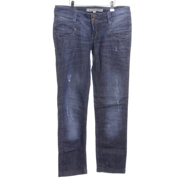 Springfield Slim Jeans blau Casual-Look