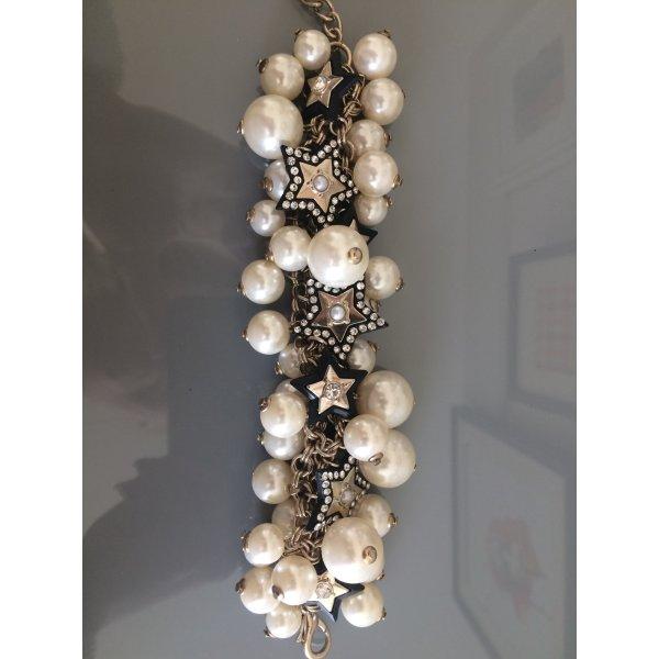 Statement Armband mit Perlen und Sternen