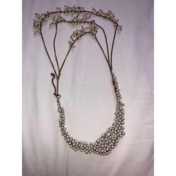 Statement-Kette von Zara mit Perlen