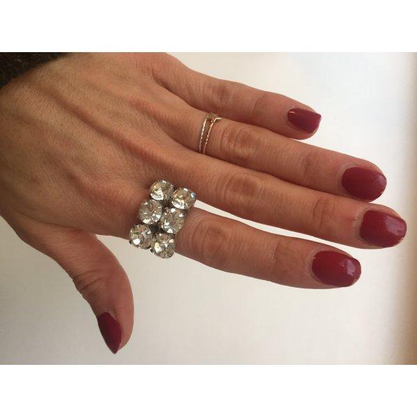 Statement Ring Diamonds
