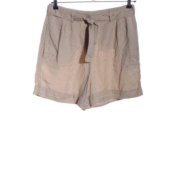 Stefanel High-Waist-Shorts braun Casual-Look